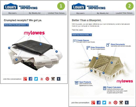 MyLowe's Email
