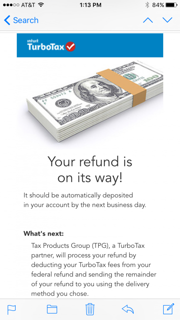 turbotax email