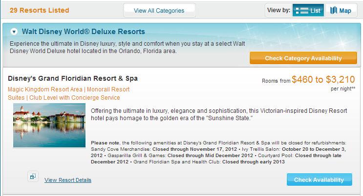 Disney Hotels